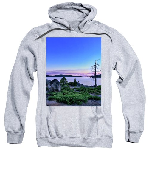 Sweatshirt featuring the photograph Man And Dog by Jim Thompson