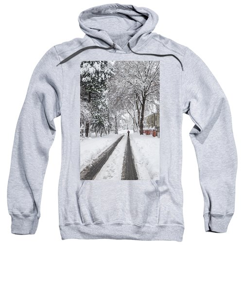 Man On The Road Sweatshirt