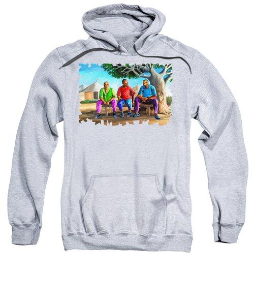 Man Talk Sweatshirt