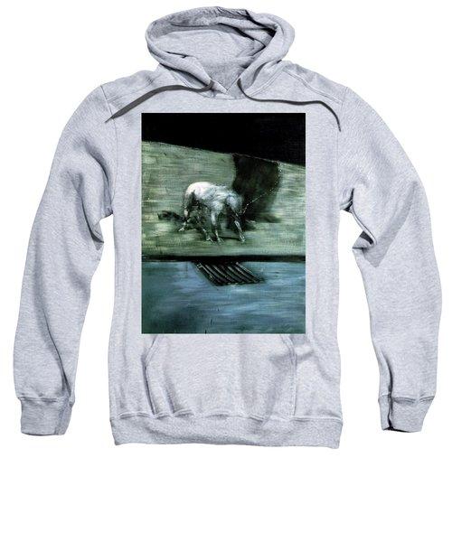Man With Dog  Sweatshirt