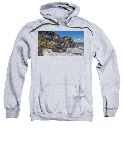 Manarola In Cinque Terre  Sweatshirt