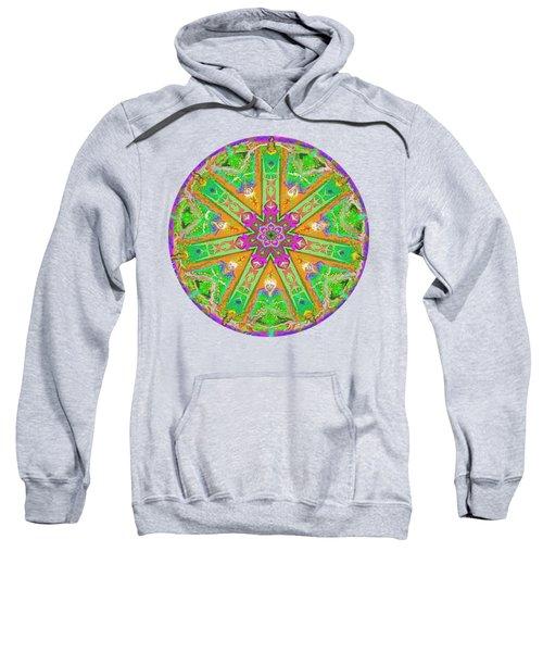 Mandala 12 27 2015 Kings And Priests Sweatshirt