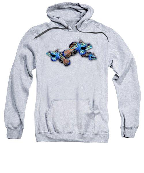 Mandarin Gobies Sweatshirt by Russ Harris