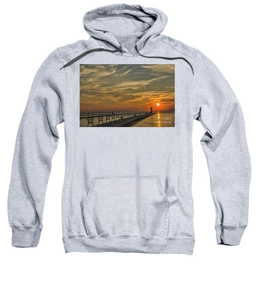 Manistee North Pierhead Lighthouse Sweatshirt