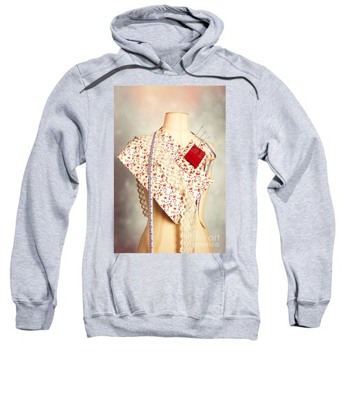 Mannequin With Colour Swatches Sweatshirt
