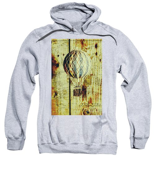 Mapping A Hot Air Balloon Sweatshirt