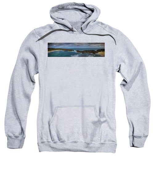 Mar Chiquita Aerial Panorama Sweatshirt