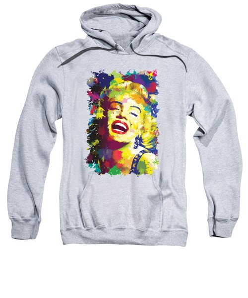 Marilyn Monroe Sweatshirt by Anthony Mwangi