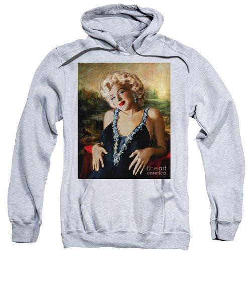 Marilyn Monroe  Mona Lisa  Sweatshirt