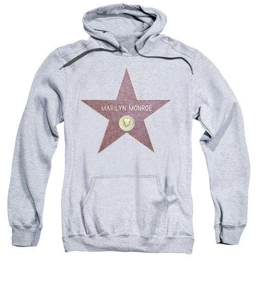 Marilyn Monroe Star From Walk Of Fame Sweatshirt