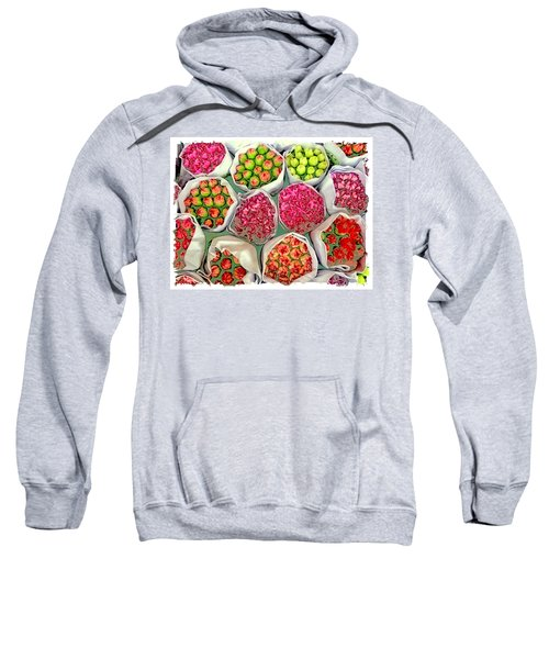 Market Flowers - Hong Kong Sweatshirt