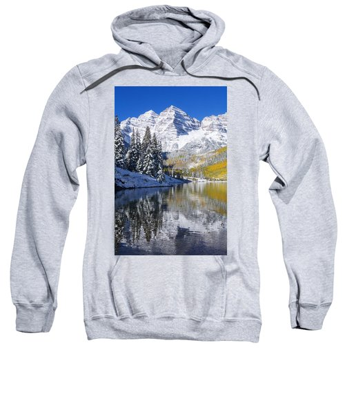 Maroon Lake And Bells 2 Sweatshirt