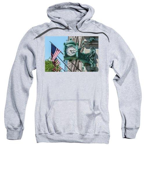 Marshall Field's Clock Sweatshirt