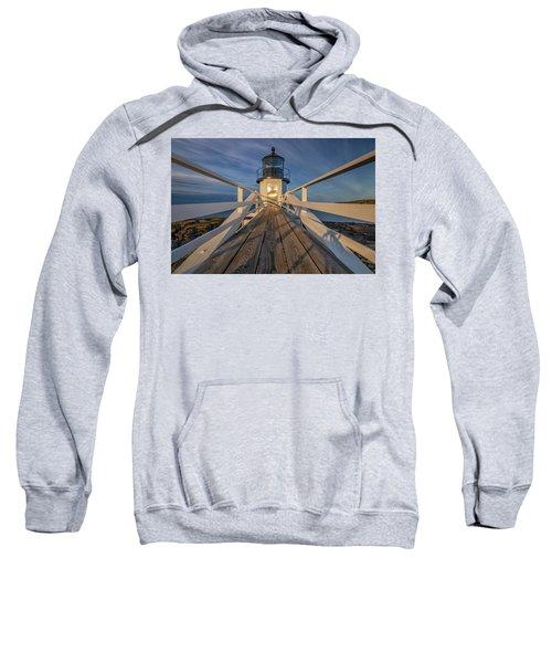 Marshall Point Lighthouse At Sunrise Sweatshirt