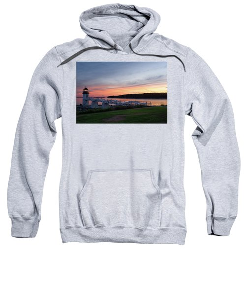 Marshall Point Lighthouse, Port Clyde, Maine -87444 Sweatshirt