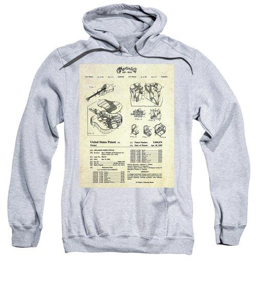Martin Guitar Patent Art Sweatshirt