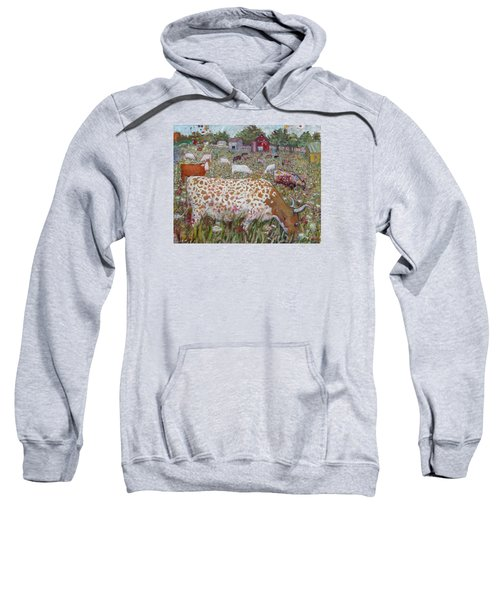 Meadow Farm Cows Sweatshirt