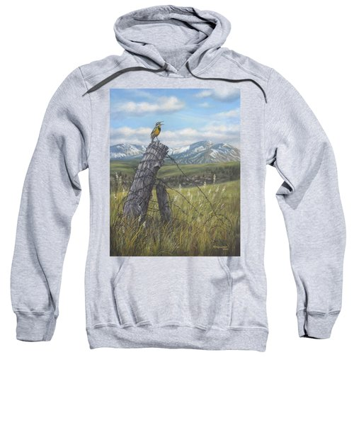 Meadowlark Serenade Sweatshirt by Kim Lockman
