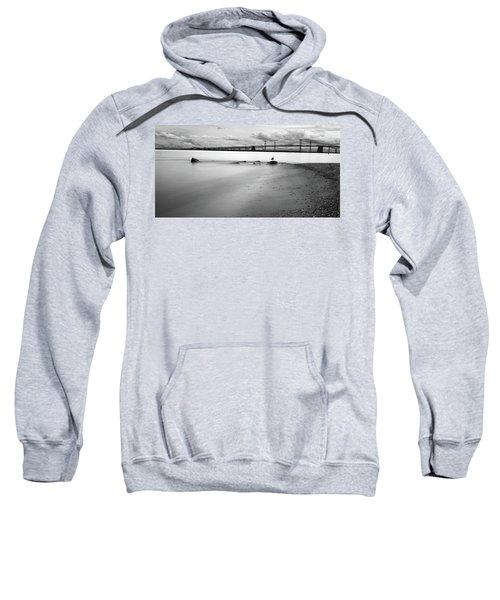 Meditating Sea Gull Sweatshirt
