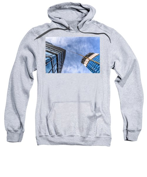 Meeting The New Neighbor Sweatshirt by Randy Scherkenbach
