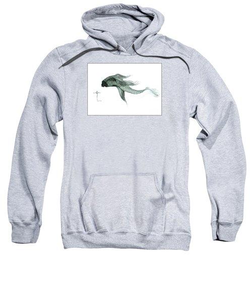 Megic Fish 1 Sweatshirt by James Lanigan Thompson MFA