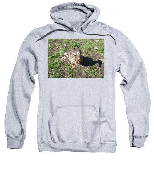 Melanie Tweed Visit At Boundary Bay Sweatshirt