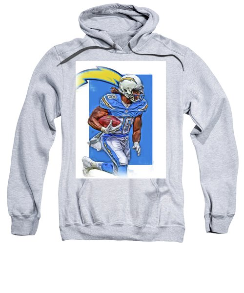 Melvin Gordon San Diego Chargers Oil Art Sweatshirt