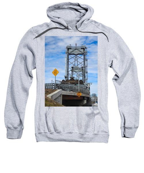 Memorial Bridge Portsmouth  Nh Sweatshirt