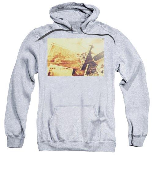 Memories And Mementoes Of Travelling France Sweatshirt