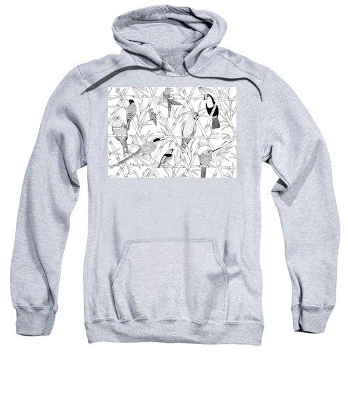 Menagerie Black And White Sweatshirt