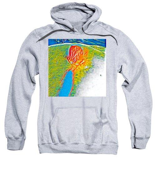 Mermaid Dives In Sweatshirt