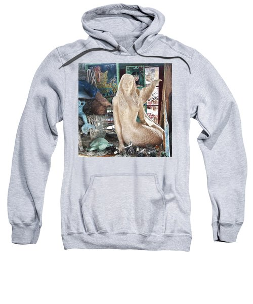 Mermaid Pondering Sweatshirt