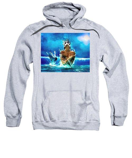 Mermaid Under The Moonlight Sweatshirt