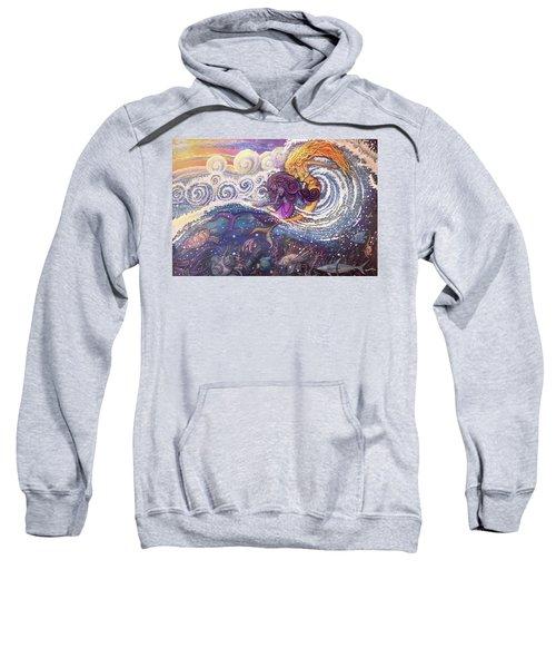 Mermaids In The Surf Sweatshirt