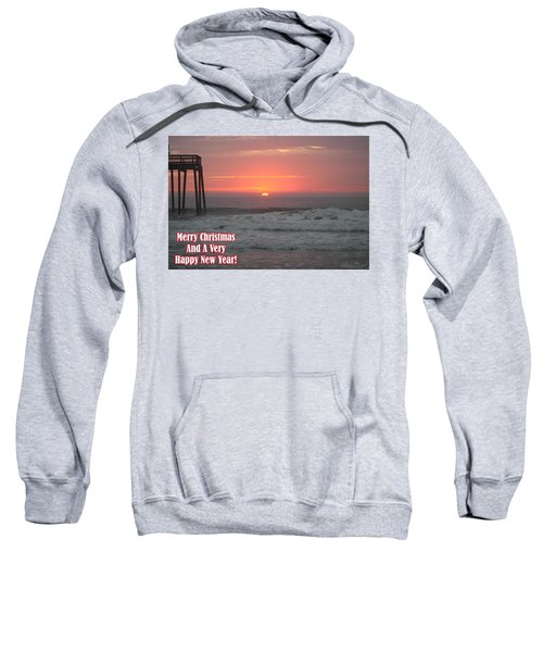 Merry Christmas Sunrise  Sweatshirt