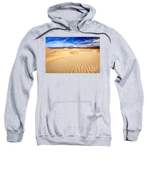 Mesquite Flat Sand Dunes In Death Valley Sweatshirt