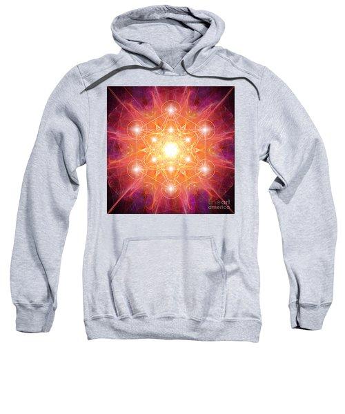Metatron's Cube Shiny Sweatshirt