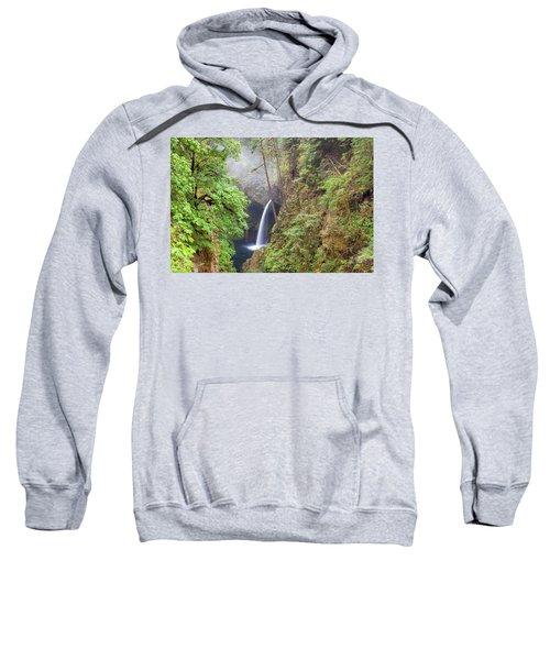 Metlako Falls In Columbia River Gorge Sweatshirt