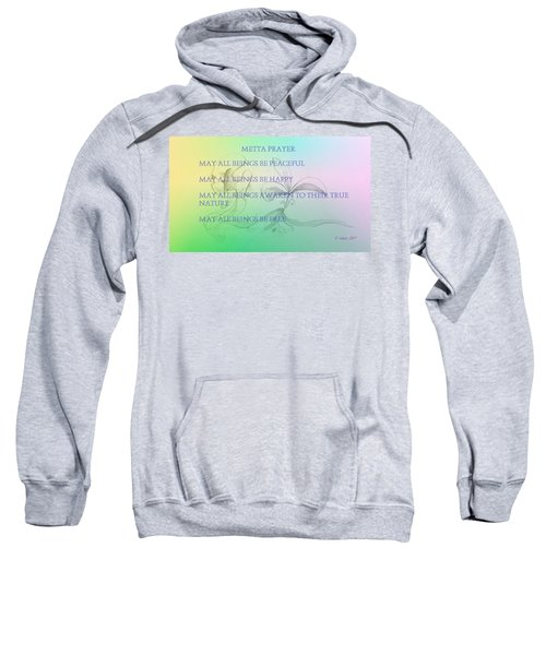 Metta Prayer Sweatshirt