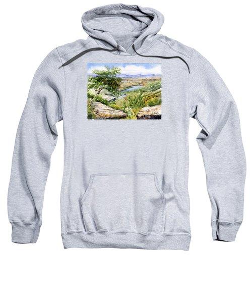 Mexican Landscape Watercolor Sweatshirt