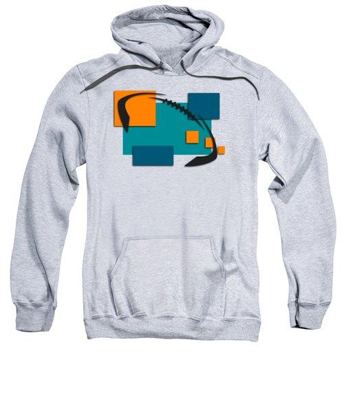 Miami Dolphins Abstract Shirt Sweatshirt