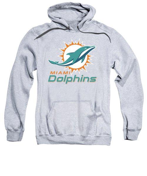Miami Dolphins Translucent Steel Sweatshirt