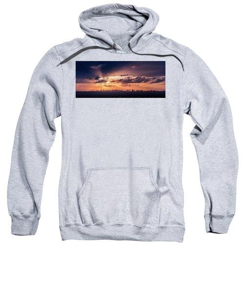 Miami Sunset Pano Sweatshirt