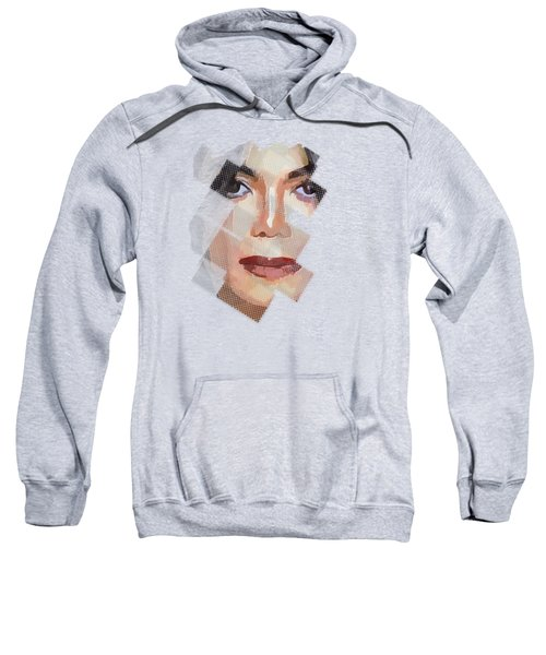 Michael Jackson T Shirt Edition  Sweatshirt by Yury Malkov
