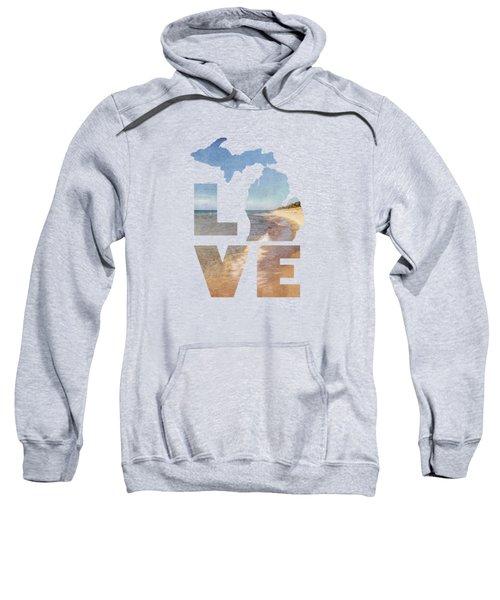 Michigan Love Sweatshirt by Emily Kay