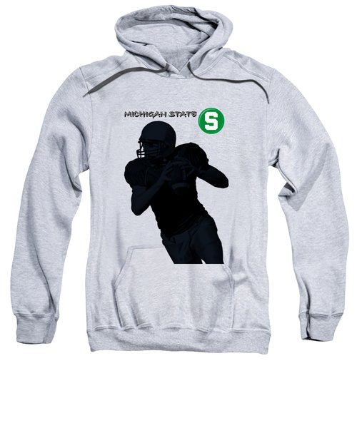 Michigan State Football Sweatshirt by David Dehner
