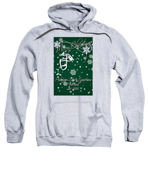 Michigan State Spartans Christmas Card Sweatshirt