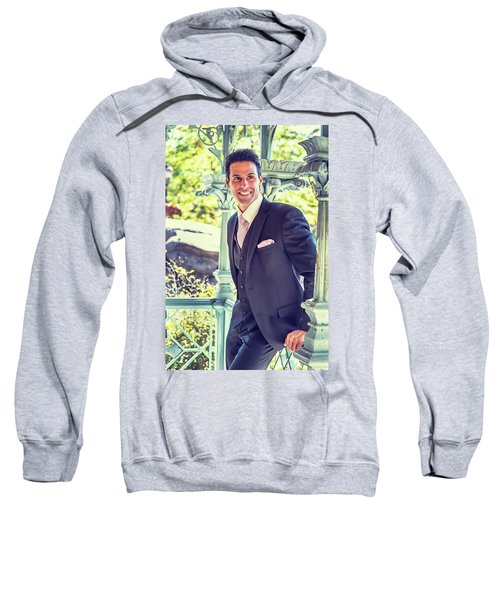 Middle Age Man Waiting For You Sweatshirt