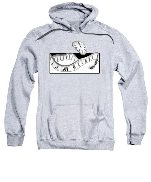 Midnight Hallucinations In Mono Sweatshirt
