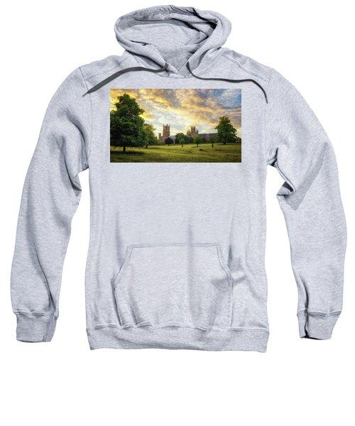 Midsummer Evening In Ely Sweatshirt